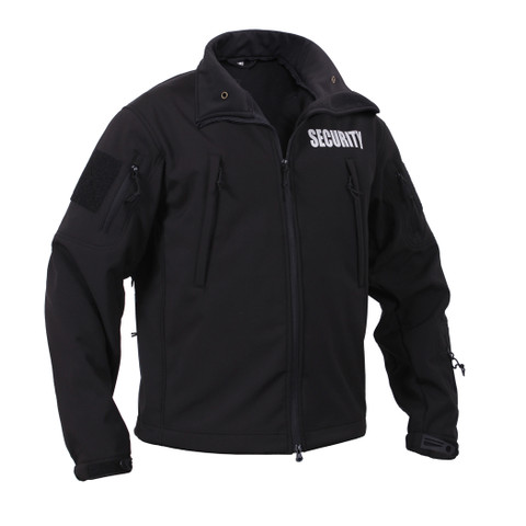 Rothco Special Ops Soft Shell Security Jacket - Front View