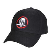 Skull/Knife Deluxe Low Profile Cap