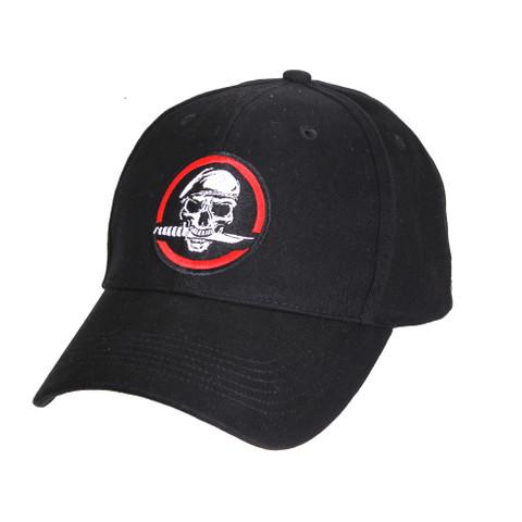 Skull/Knife Deluxe Low Profile Cap