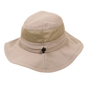 Lightweight Travelers Mesh Boonie Hat - Front View