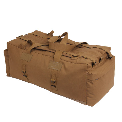 Mossad Tactical Coyote Brown Duffle Bag - Right Side View