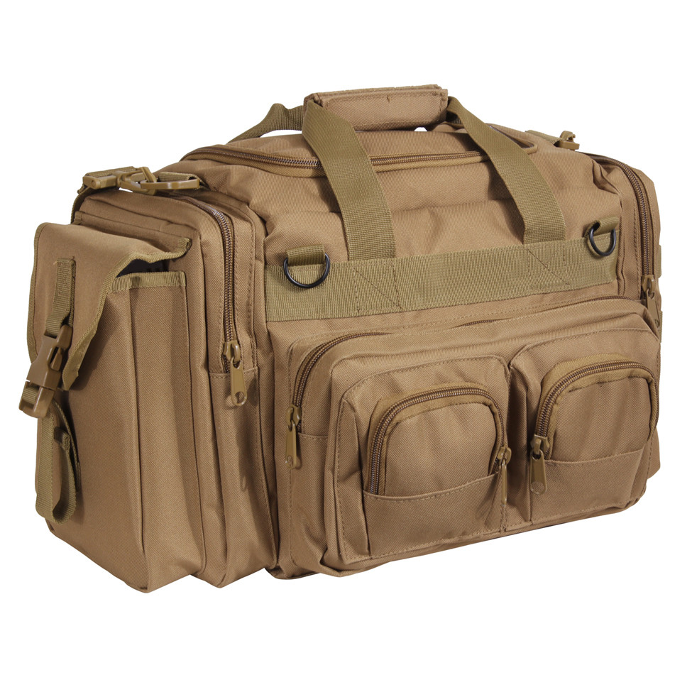 2d0953721d Coyote Brown Concealed Carry Bag - Front View. Hover over image to zoom