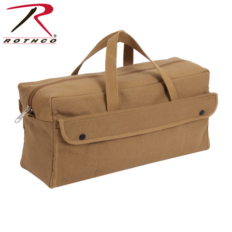 Jumbo Coyote Canvas Mechanics Tool Bag - Rothco View