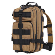 Two Tone Medium Transport Packs - Coyote/Black Trim