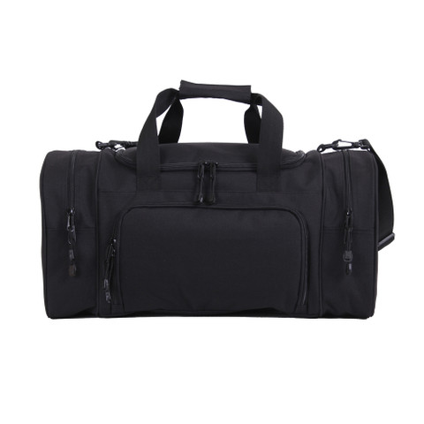 Deluxe Sports Duffle Carry On Bag - Front View