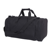 Deluxe Sports Duffle Carry On Bag - Side Angle View