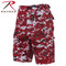 Rothco Red Digital Camo BDU Military Shorts