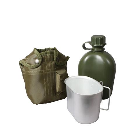 Kids Military 3 Piece Canteen Kit Set - View