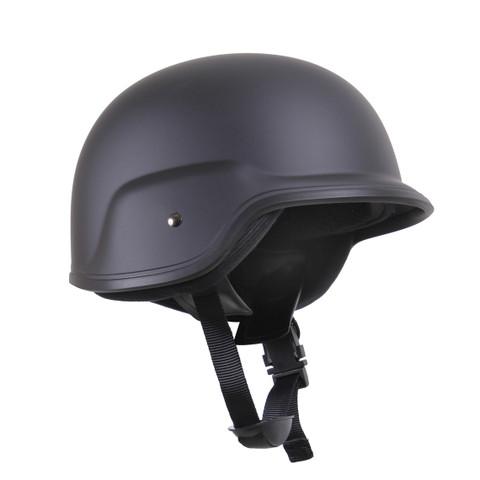 Deluxe Kids Tactical Black ABS Plastic Helmet - View