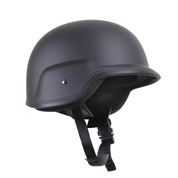 Deluxe Kids Tactical Black ABS Plastic Helmet - View