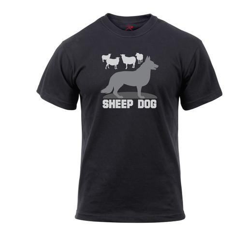 Sheep Dog T Shirt - Front View