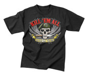 Kill 'Em All T Shirt - Front View