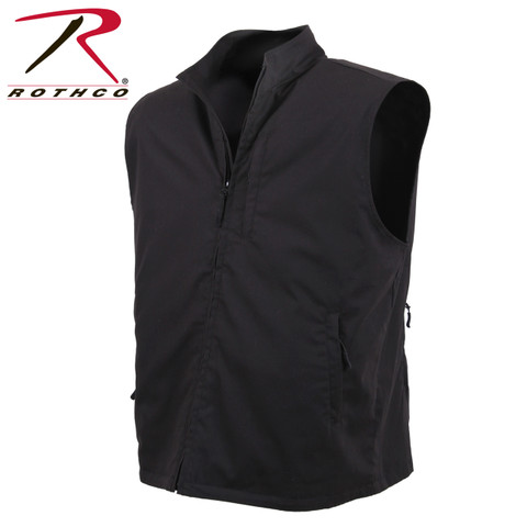 Rothco Black Undercover Travel Vest - Rothco View