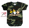 Infant Camo Choose Your Weapon One-Piece Bodysuit - Rothco View