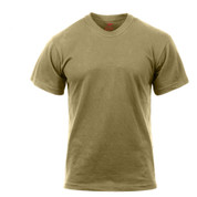 Rothco AR 670-1 Coyote T Shirt - Front View