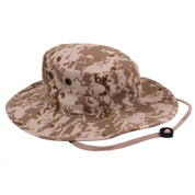 Adjustable Desert Digital Camo Outdoor Boonie Hat - View