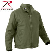Olive Drab 3 Season Concealed Carry Jacket - View