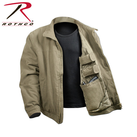 Rothco 3 Season Concealed Carry Jacket - Open View