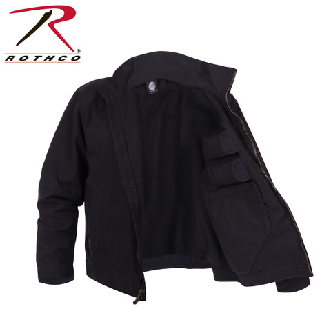 Rothco Lightweight Concealed Jacket - Open View