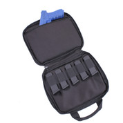 Concealed Double Pistol Carry Case - Open View