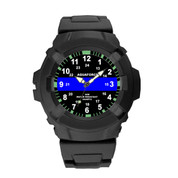 Aqua Force Blue Thin Line Watch - View