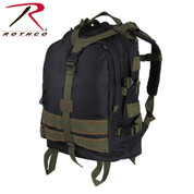 Rothco Black/Olive Large Transport Pack - View