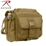 Coyote Brown Advanced XL Tactical Shoulder Bag - Front View