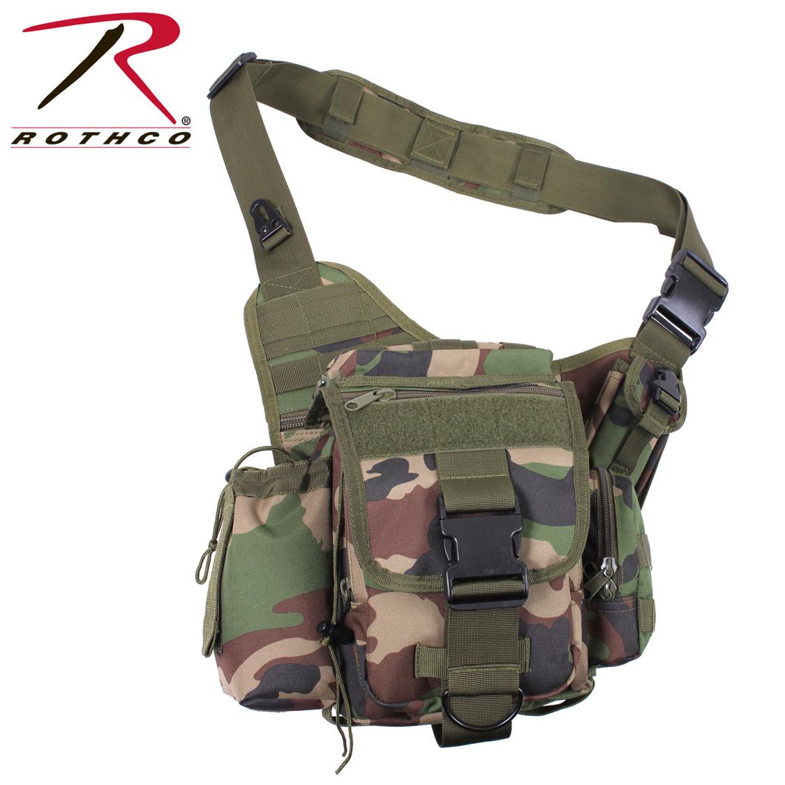 57661e4ac391 Shop Advanced Tactical Camo Sling Bags - Fatigues Army Navy Gear