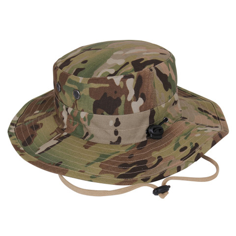 MultiCam Adjustable Boonie Hats - Cord View