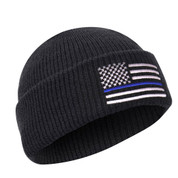 Thin Blue Line Deluxe Watch Cap