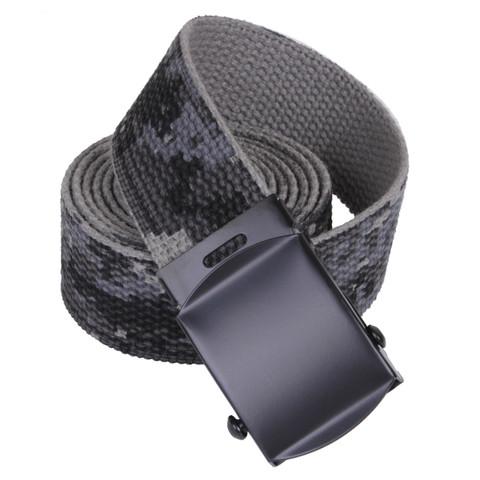 Subdued Urban Digital Camo Web Belt - 3D View