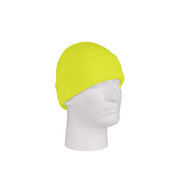 Deluxe Fine Knit Safety Green Watch Cap - View