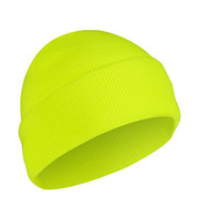 Deluxe Fine Knit Safety Green Watch Cap