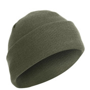 Deluxe Fine Knit Foliage Green Watch Cap - View
