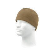 Coyote Brown Polar Fleece Watch Cap - View