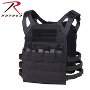 Rothco Black Lightweight Plate Carrier Vest - View
