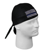 Thin Blue Line Flag Headwrap - View