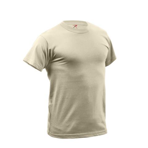 Desert Sand Quick Dry Wicking T Shirt - View