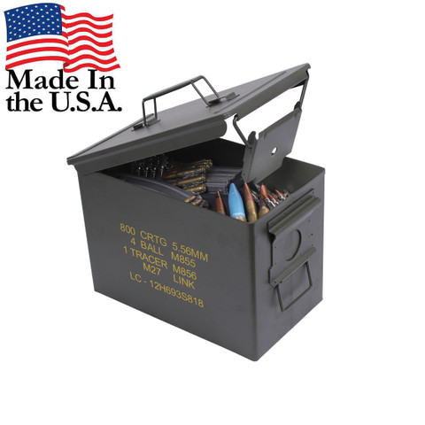 Fat 50 Cal Ammo Can - View