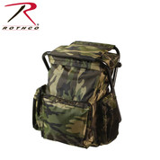 Backpack & Stool Combo Pack - Rothco Brand View