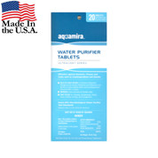 Aquamira Water Purification Tablets - USA View