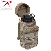 MOLLE MultiCam Compatible Water Bottle Pouch - Rothco View