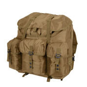 Large Coyote Brown Alice Field Pack w/Frame - View