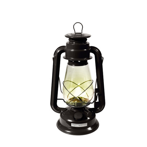 Black Kerosene Lantern - View