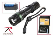 Rothco 3 Watt LED Flashlight w/ Charger - View
