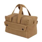 Canvas Brass Zipper Mechanics Tool Bag - View 1