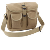 Khaki Ammo Shoulder Bag - View