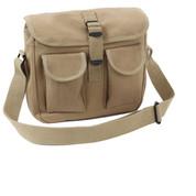 Khaki Ammo Shoulder Bag - View
