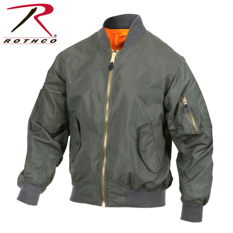 Lightweight MA-1 Flight Jacket - Rothco View