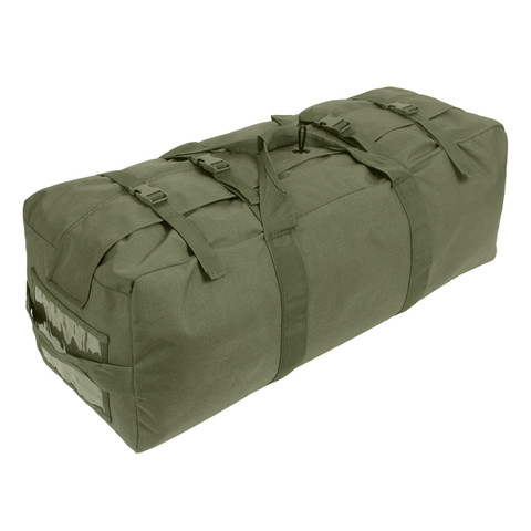 Enhanced Nylon Duffle Gear Bag - Top Strap View